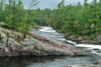 Five finger rapids on th French River